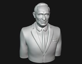 Vladimir Putin Bust 3D printable model