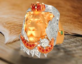 LION ring RG0006 3D print model