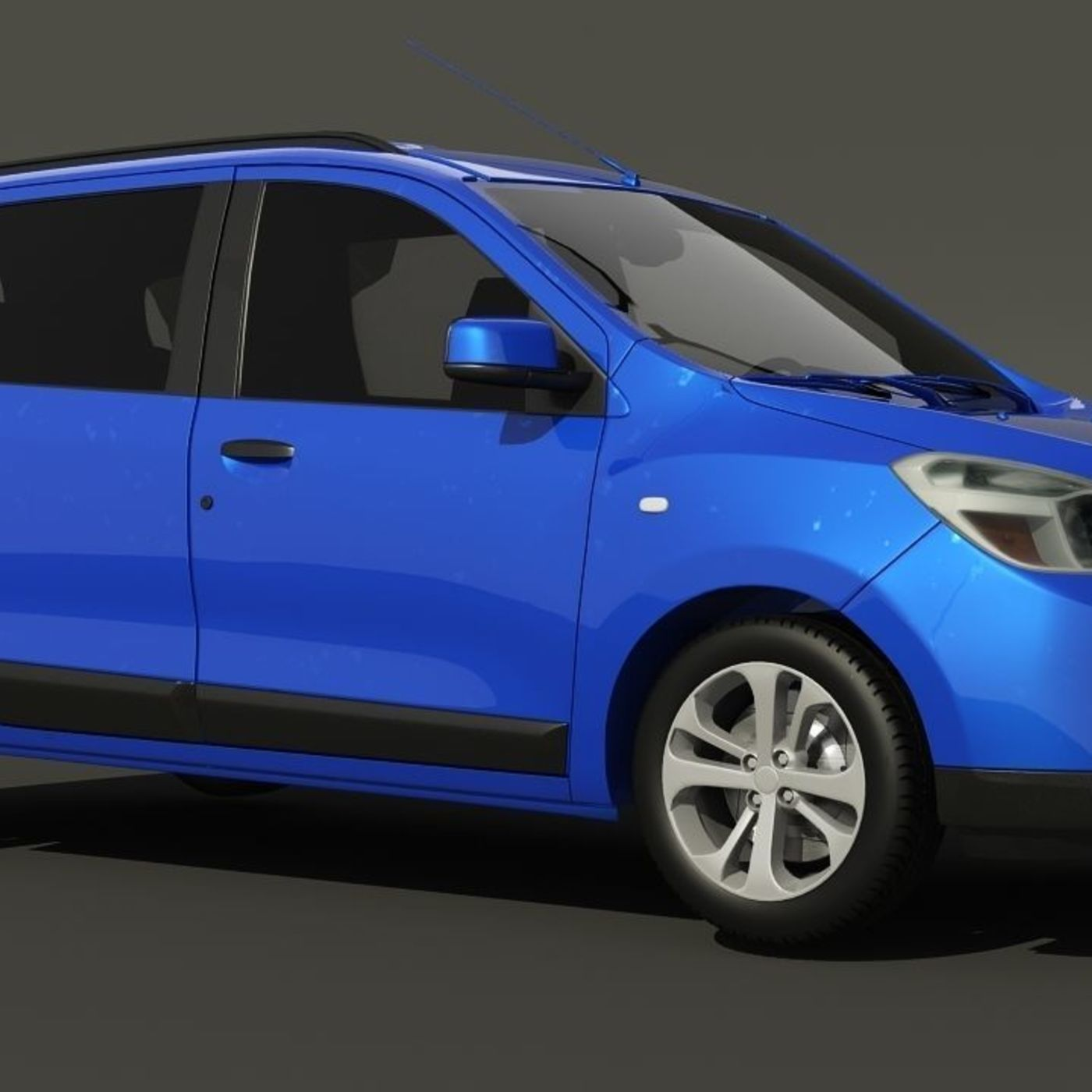 Dacia Lodgy 3d models.