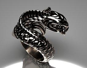 Fish ring carp 3D printable model rings