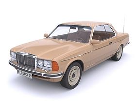 3D car Mersedec benz 1979