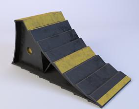 3D model Wheel chock