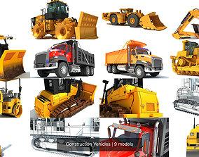 Construction Vehicles 3D