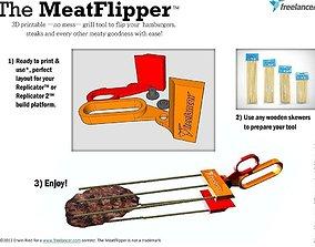 3D printable model The MeatFlipper
