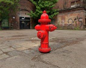 3D asset Fireplug for artworks and games