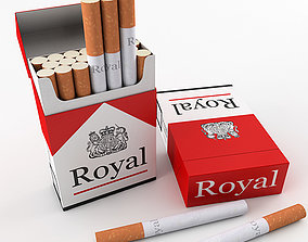 3D model Cigarette Pack