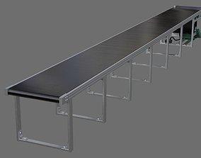 Conveyor Belt 1A 3D model