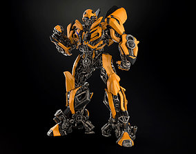 3D print model BUMBLEBEE with EXTRA BATTLE MODE head