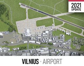 Vilnius Airport 3D model