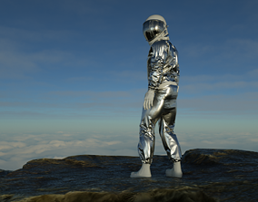 3D model Spacesuit Astronaut Rigged - Astronauta Traje 2