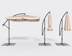 Umbrella Deck Parasol 3 3D asset
