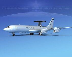 Boeing E-3B Sentry USAF 3 3D model