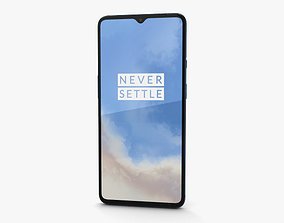 OnePlus 7T Glacier Blue 3D model