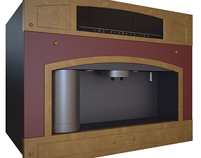 Restart Coffee Machine 3D model