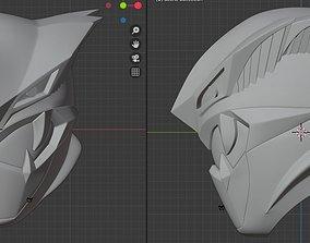 Dark Buster Go Buster 3D Printable Helmet supersentai