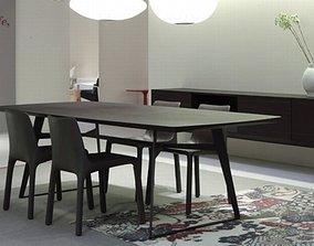 Poliform-Table Clipper 3D
