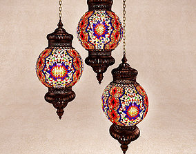 3D Turkish lamp