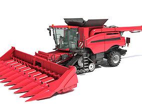 3D Combine Harvester 2020