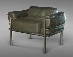3D asset Green Video Game Chair