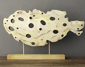 Cutout Fish Decor 3D