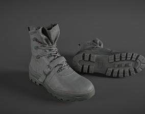 3D asset Pair of Boots