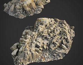 3d scanned rock cliff R2