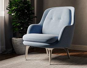 FRI JH4DS Chair 3D model