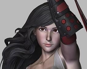 3D printable model My Character with Tifa outfit