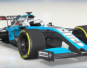 la Williams FW42 - F1i - Auto Moto 3D model animated