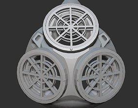 Respirator mask triple tools 3D print model