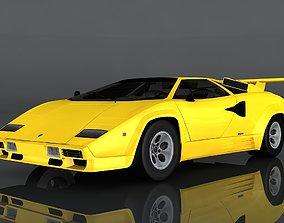 3D model Lamborghini Countach LP5000