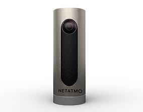 3D model Netatmo welcome camera