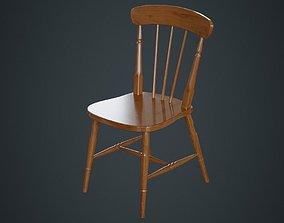 3D model Kitchen Chair 2A