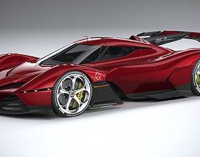3D model Alfa Romeo 8C-R Tazio 2020