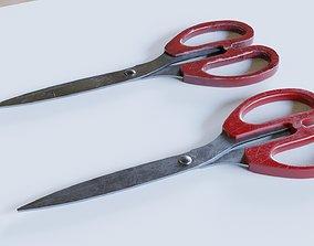 Scissors 3D rigged
