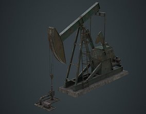 Oil Pumpjack 1B 3D model