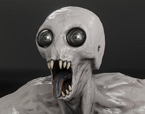 3D model animated realtime PBR MONSTER