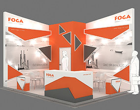 3D Exhibition Stand - ST0056