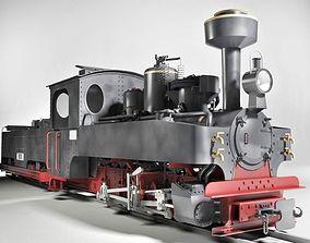 3D Brigadelok Steam Locomotive 01