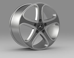 3D model Mercedes Benz G-Class spy rim