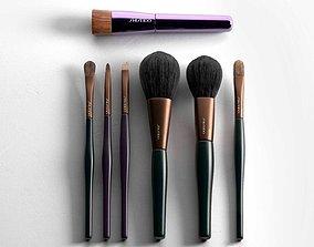 3D make-up Make Up Brush Set