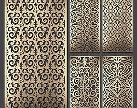Decorative panel set 60 3D