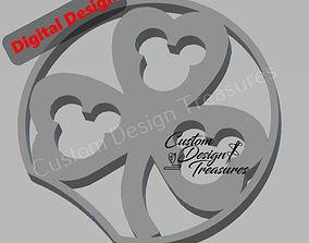 Disney Inspired Mouse Ears - Shamrock Mouse 3D print