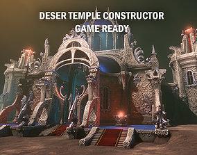 3D asset Desert temple constructor