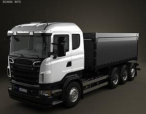3D Scania R 730 Tipper Truck 2010