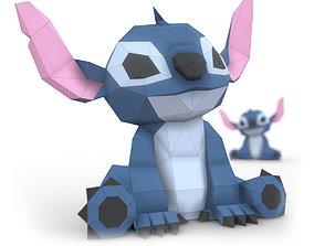 Stitch - Lilo and Stitch papercraft 3D model