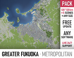 3D Fukuoka - Kitakyushu