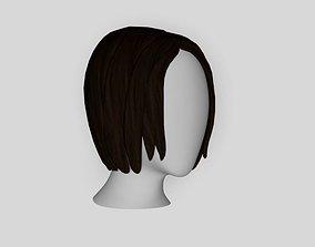 Bob Hair Style 3D model