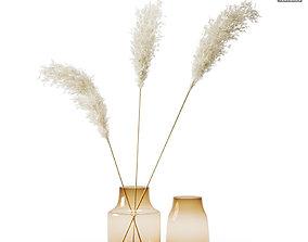 Pampas Grass Bouquet 03 3D model