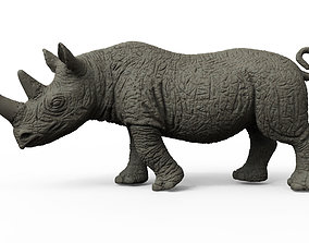RHINO art 3D model realtime